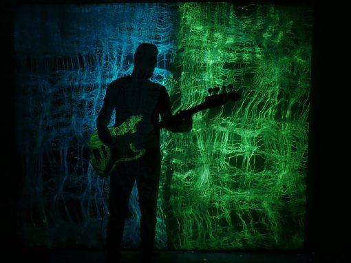 Glowing Guitar